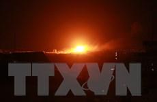 Một quả rocket từ Dải Gaza bắn vào lãnh thổ Israel lúc sáng sớm