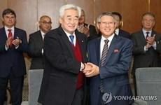 Hàn Quốc và Triều Tiên cùng đồng diễn Taekwondo tại Thụy Sĩ