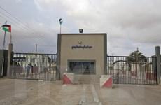 Israel mở lại hai cửa khẩu ở Gaza bị đóng sau vụ tấn công rocket
