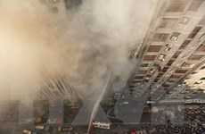 Bangladesh bắt giữ các chủ sở hữu tòa nhà FR Tower bị hỏa hoạn
