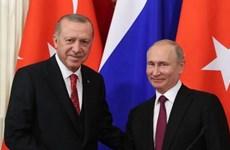 Tổng thống Thổ Nhĩ Kỳ Tayyip Erdogan thăm chính thức Nga