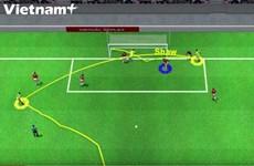 [Video] Cận cảnh bàn phản lưới nhà của Luke Shaw khiến M.U thất thủ