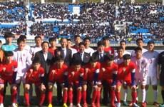 Việt Nam tham gia Giải bóng đá U15 Ari Sports Cup tại triều Tiên