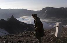 Núi lửa Baekdu ở Triều Tiên sắp 'thức giấc' sau 1.000 năm ngủ yên