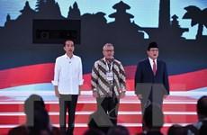 Bầu cử Indonesia: Hai cặp ứng cử viên tranh luận trực tiếp lần cuối