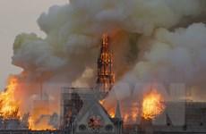 Nhật Bản sẵn sàng hỗ trợ Pháp xây dựng lại Nhà thờ Đức Bà Paris