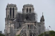 Các chuyên gia tìm cách cứu phần còn sót lại của Nhà thờ Đức Bà