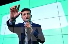 Bầu cử Ukraine: Diễn viên hài Zelenskiy giành ưu thế vượt trội