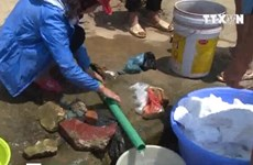 [Video] Nhiều khách sạn ở Sa Pa đóng cửa vì thiếu nước sinh hoạt