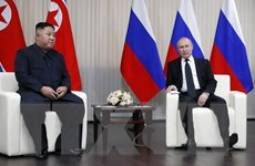 Thượng đỉnh Nga-Triều: Hai nhà lãnh đạo tiến hành hội đàm kín