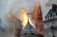 Hé lộ nguyên nhân gây ra vụ hỏa hoạn Nhà thờ Đức Bà Paris