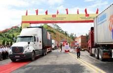 Giải quyết ùn ứ hàng xuất khẩu tại Cửa khẩu Quốc tế Hữu Nghị