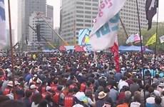 Nhiều nước châu Á tuần hành kêu gọi cải thiện điều kiện làm việc