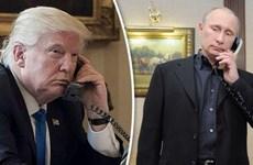 Tổng thống Mỹ, Nga điện đàm về hàng loạt vấn đề nóng trên thế giới