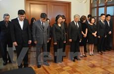 Lễ viếng và mở sổ tang Chủ tịch nước Lê Đức Anh tại Argentina, Mexico