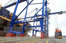 Cảng quốc tế Hải Phòng đón tàu container lớn nhất từ trước đến nay