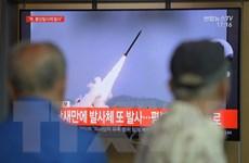 Triều Tiên phóng vật thể bay: Nhật Bản không phát hiện mối đe dọa