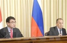 Nga-Nhật lạc quan về các hoạt động kinh tế chung ở quần đảo tranh chấp