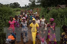 41,3 triệu người phải rời bỏ nhà cửa do chiến tranh trong năm 2018