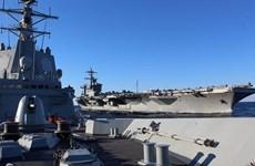 Tây Ban Nha rút tàu chiến khỏi nhóm tàu do Mỹ dẫn đầu ở vùng Vịnh