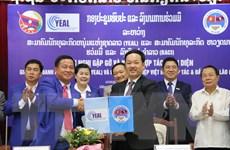 Các doanh nghiệp Việt Nam tăng cường hợp tác với các doanh nghiệp Lào