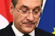 Phó Thủ tướng Áo Heinz-Christian Strache bất ngờ đệ đơn từ chức