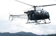 Peru: Rơi máy bay trực thăng quân sự, 4 người thương vong
