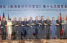 Hội nghị quan chức cao cấp ASEAN-Trung Quốc về thực hiện DOC 17