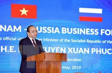 Thủ tướng Nguyễn Xuân Phúc khai mạc Diễn đàn Doanh nghiệp Nga-Việt