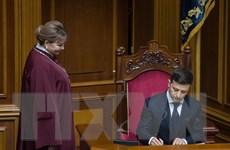 Quốc hội Ukraine bác bỏ đề xuất cải cách bầu cử của tân Tổng thống