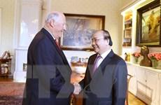Thủ tướng Nguyễn Xuân Phúc hội kiến Nhà Vua Na Uy Harald V