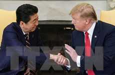 Tổng thống Mỹ tới Tokyo, bắt đầu chuyến thăm Nhật Bản 4 ngày