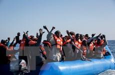 Hải quân Italy và Malta giải cứu 165 người di cư ở Địa Trung Hải