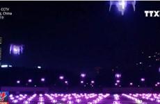 [Video] Kỳ ảo 500 máy bay không người lái thắp sáng bầu trời đêm
