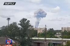 [Video] Cháy nổ nghiêm trọng tại Nga, hơn 40 người bị thương
