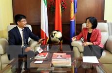 Quan hệ Việt Nam và Italy đang trên đà phát triển tích cực