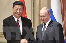 Lãnh đạo Nga, Trung Quốc nhất trí nâng cấp quan hệ song phương