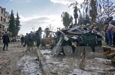 Nhiều dân thường bị thương trong vụ đánh bom xe ở miền Đông Bắc Syria