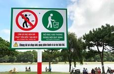 Đà Lạt: Lắp camera để xử phạt hành vi xả rác bên hồ Xuân Hương