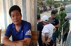 Bắt khẩn cấp đối tượng gọi người chặn xe ôtô chở công an Đồng Nai