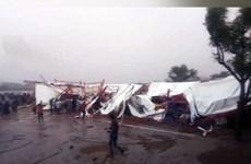 Ấn Độ: Sập lều trong buổi lễ tôn giáo, hơn 60 người thương vong