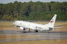 Chiến đấu cơ Su-27 của Nga chặn máy bay do thám Mỹ trên Biển Đen