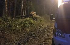 Nga: Xe bồn chở 4,5 tấn nhiên liệu bốc cháy, 15 người thương vong