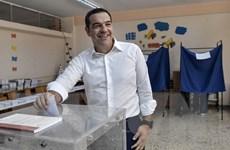 Bầu cử Quốc hội Hy Lạp: Đảng đối lập dẫn trước Thủ tướng Tsipras