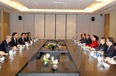 Chủ tịch Quốc hội Nguyễn Thị Kim Ngân tiếp các doanh nghiệp Trung Quốc