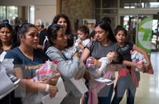 LHQ 'sốc' với điều kiện sống tại các trung tâm giữ người di cư ở Mỹ