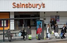 Doanh thu của các nhà bán lẻ tại nước Anh giảm thấp kỷ lục