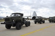 Thổ Nhĩ Kỳ tiếp tục nhận thiết bị hệ thống phòng không S-400 của Nga