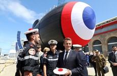 Pháp ra mắt tàu ngầm tấn công chạy bằng năng lượng hạt nhân mới
