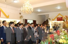Lễ kỷ niệm 110 năm Ngày sinh Chủ tịch Lào Suphanouvong